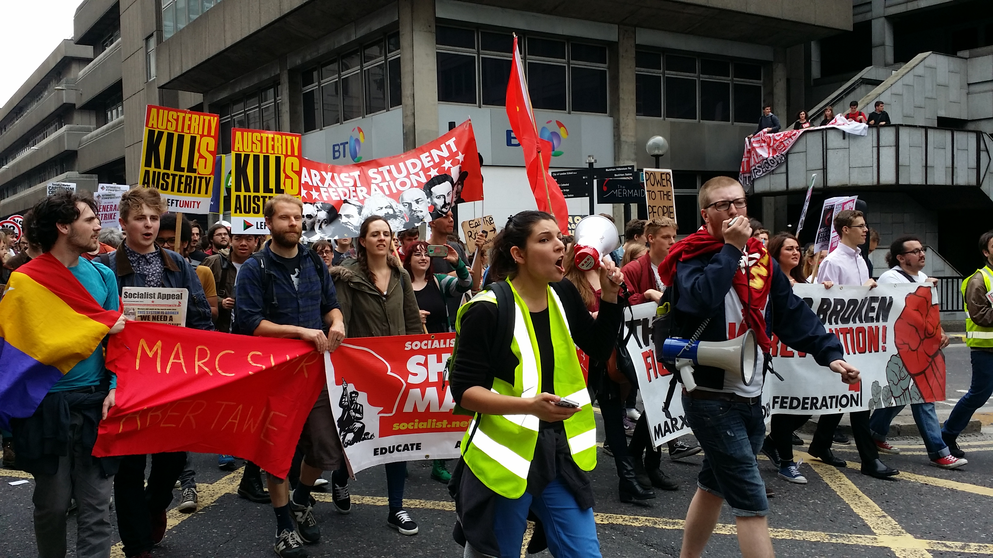 The road to revolution: the work of the Marxist Student Federation in 2016