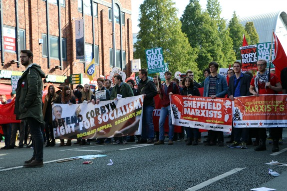 Marxist students take the fight to the Tories