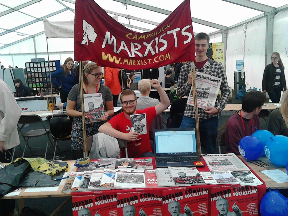 Cambridge Marxists at the freshers fair