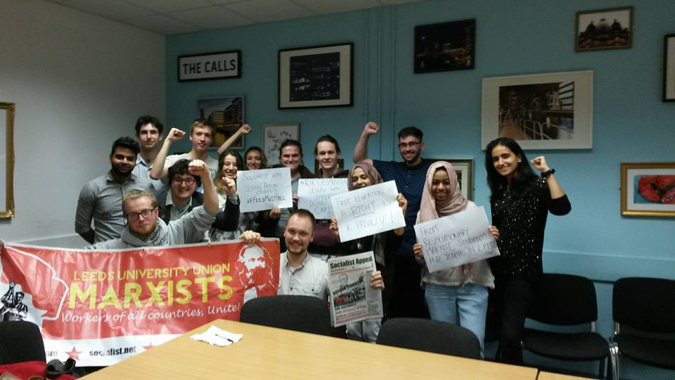 Leeds Marxists solidarity with #FeesMustFall protests in South Africa