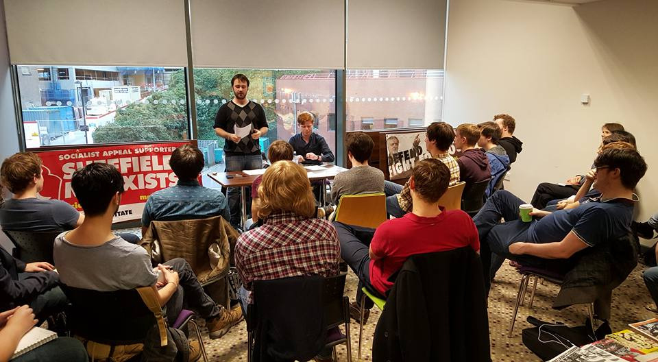 First meeting of the Sheffield Marxist society