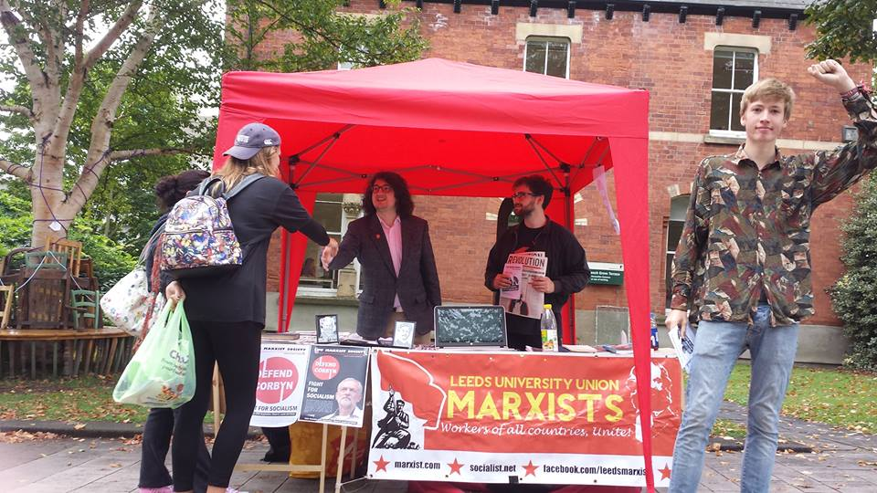 Revolutionary round-up of last week's freshers fairs