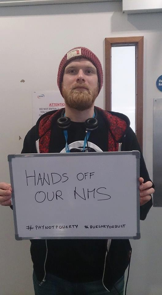 Solidarity with exploited student nurses! Bursary or Bust campaigner says: 'we're not done yet.'