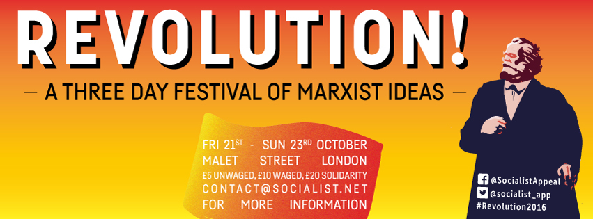 REVOLUTION! – a three day festival of Marxist ideas