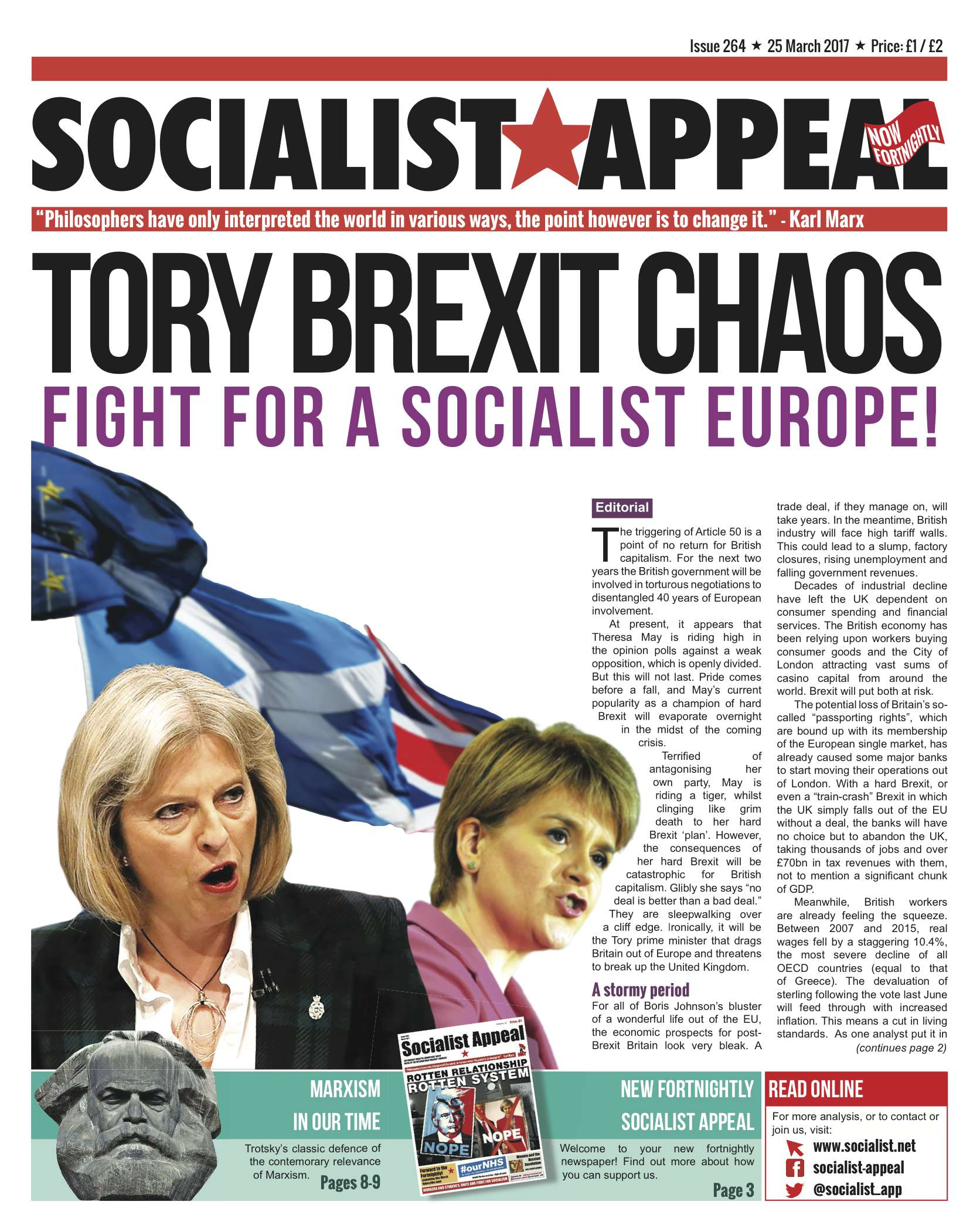 Fortnightly Socialist Appeal hits campuses