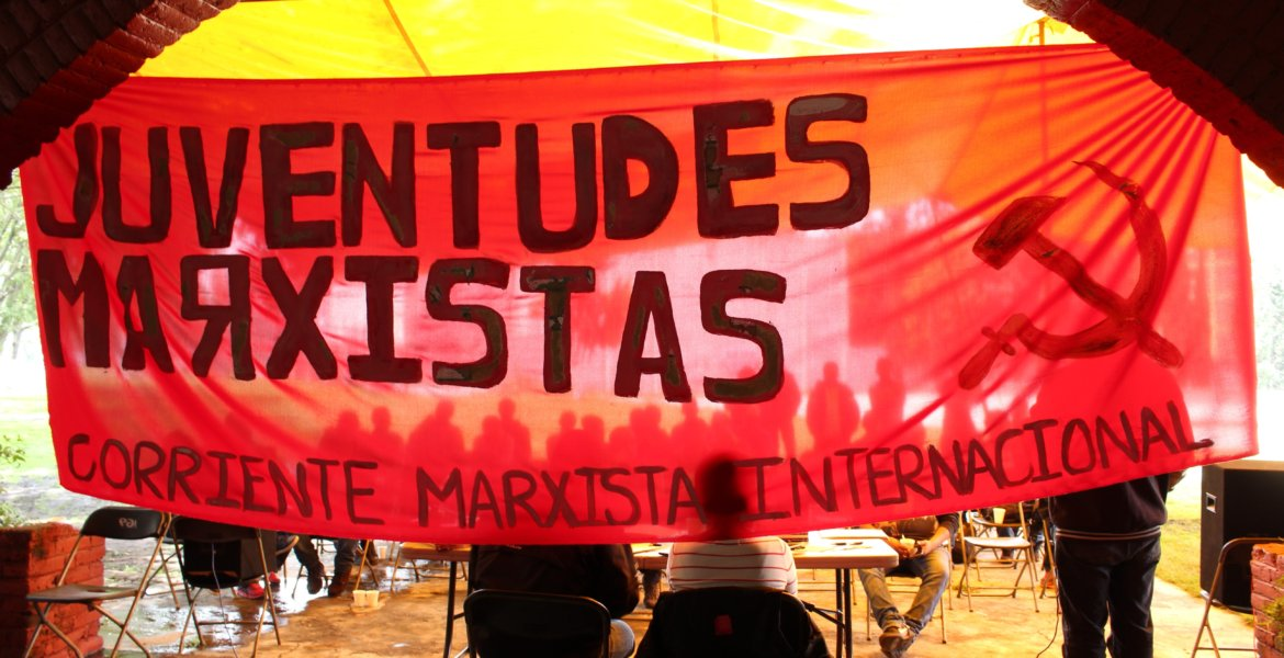 Marxist camp celebrating the centenary of the Russian Revolution – SHARON MAYREN PADILLA in Mexico