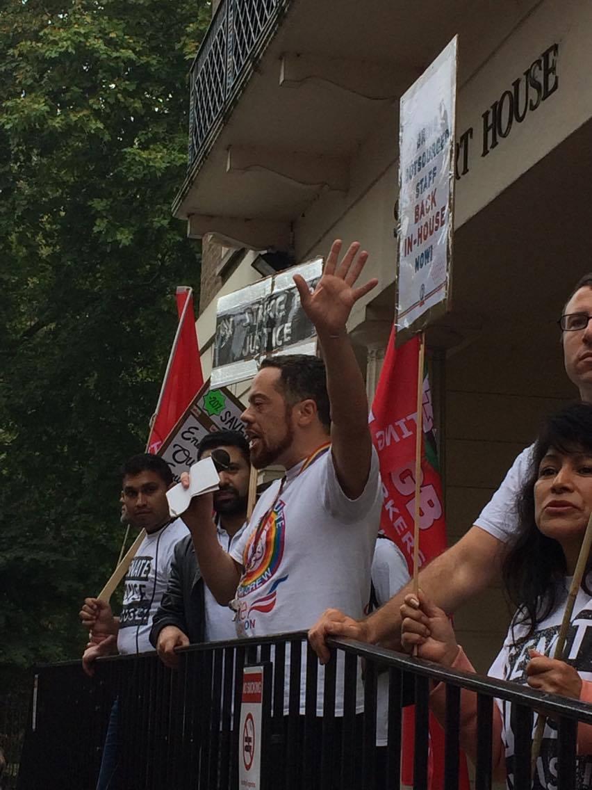 Precarious workers strike back in London