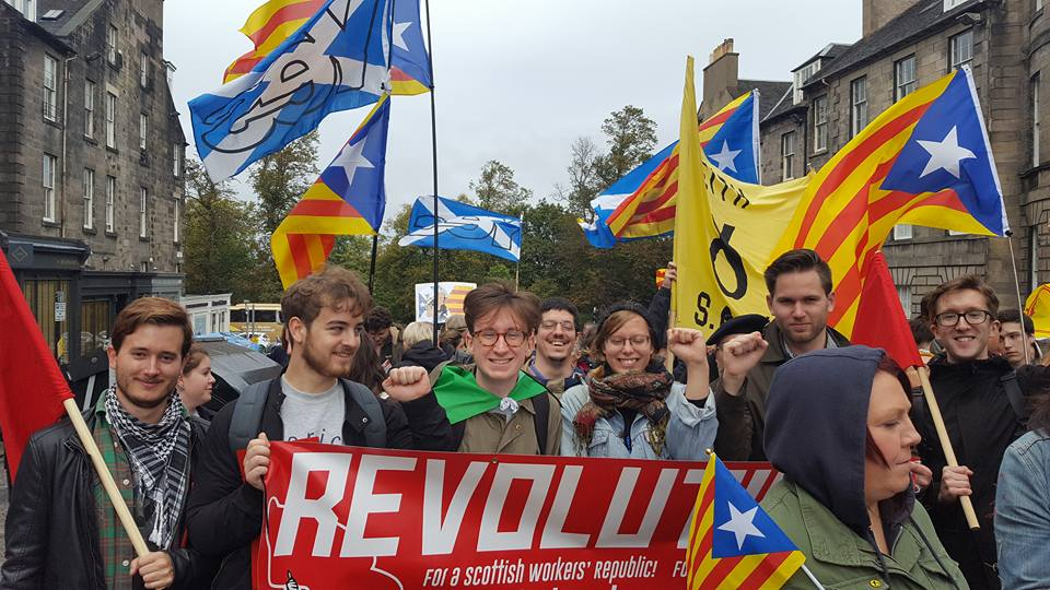 Scottish Marxists rally for Catalonia