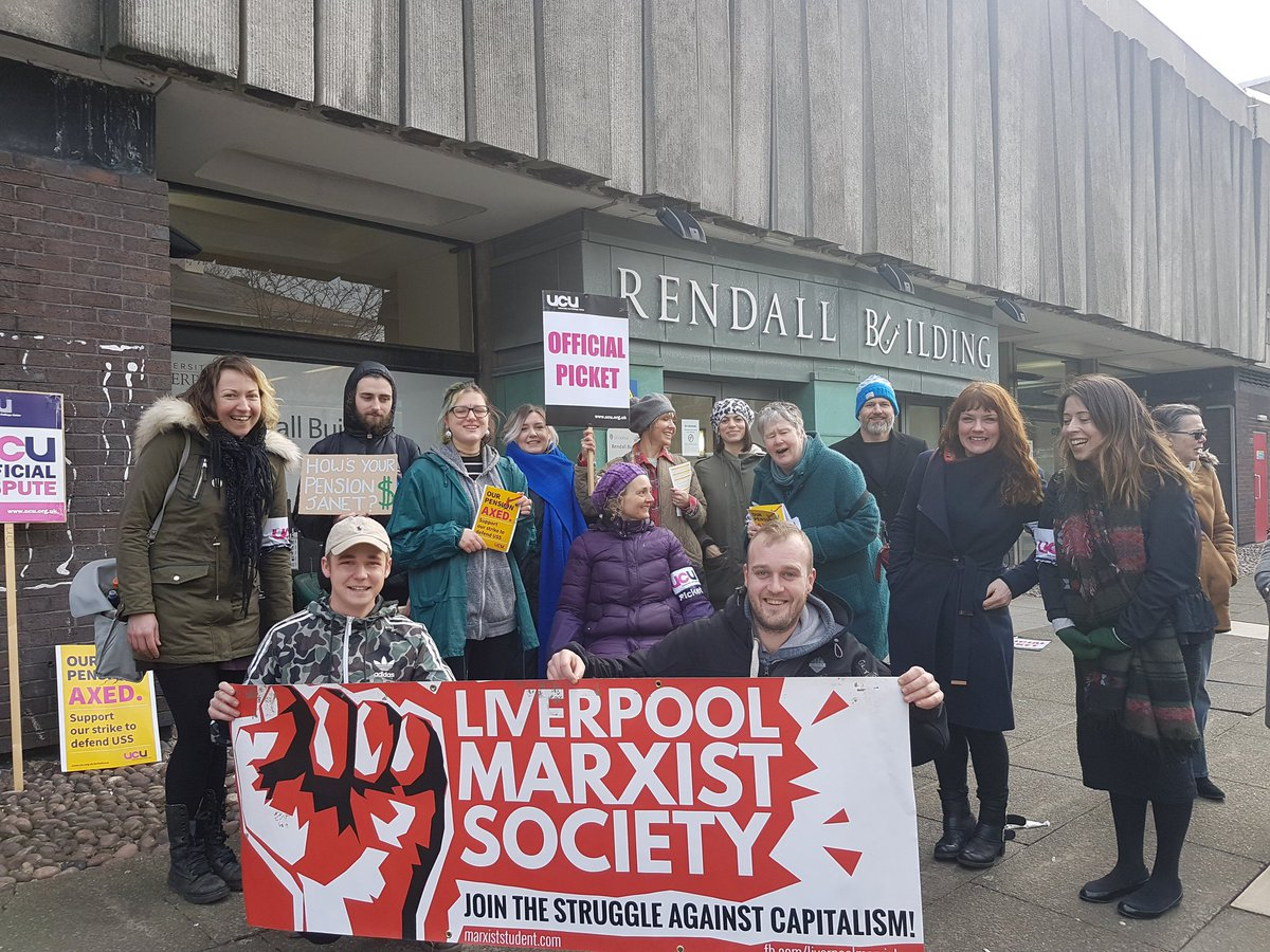 Why we're on strike: picket line interview with a striking lecturer
