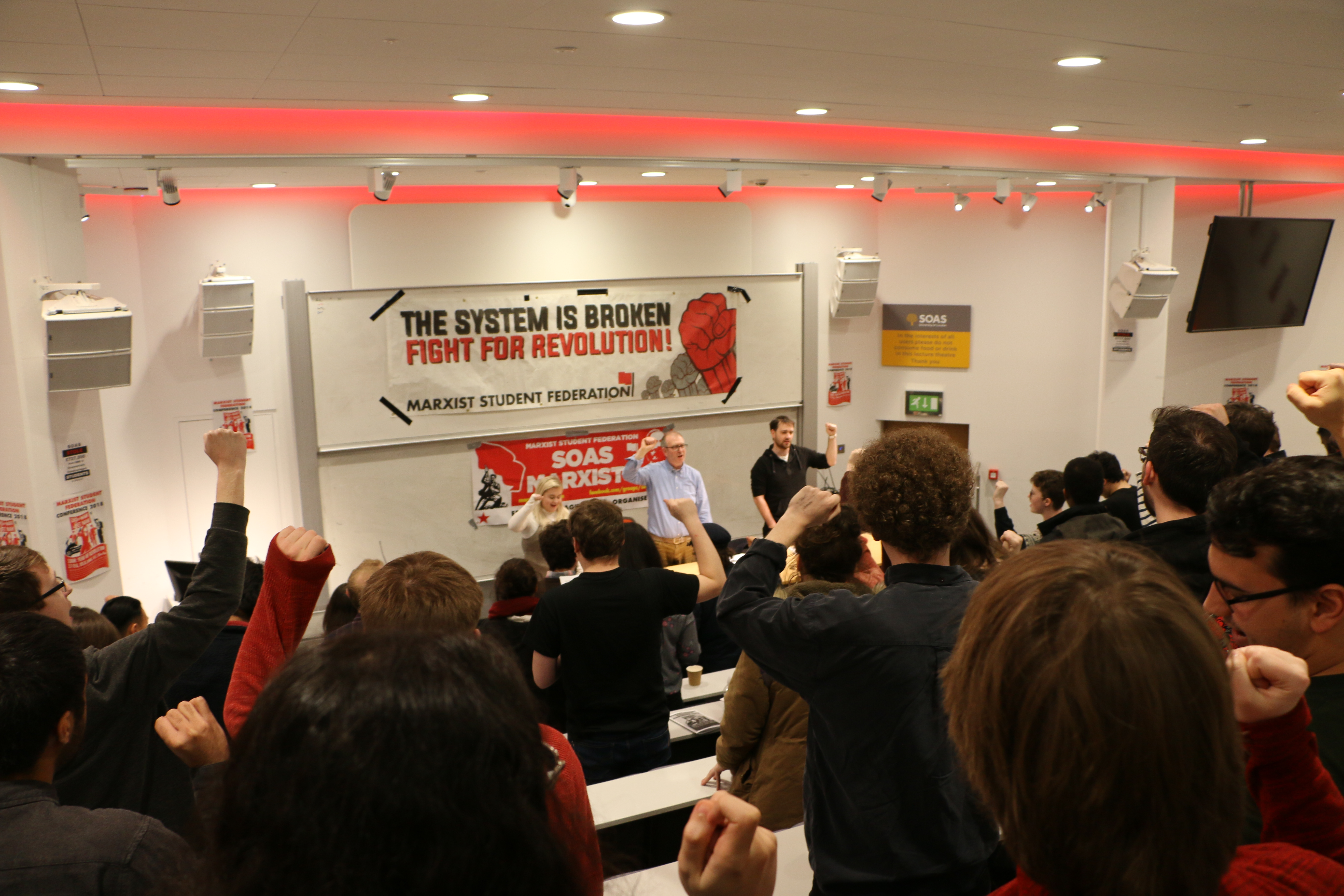 MSF conference: 100 students celebrate fifty years since 1968