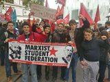 Red wave sweeps universities