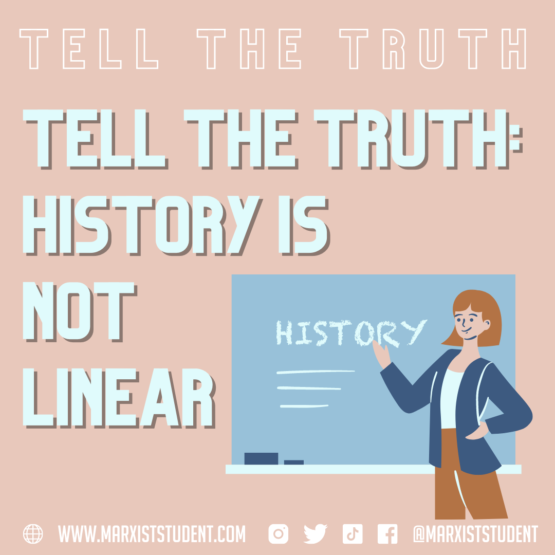Tell the truth History is not linear
